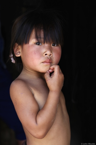 face of vietnam - Mang ethnic girl in Pa Ve Su in A Mai Village