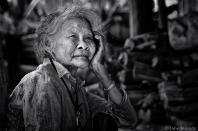 face of vietnam - Mang ethnic lady in Ban Huoi Cuong Village
