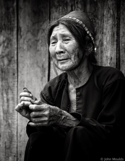 face of vietnam - La Hu lady in Nam Cau Village