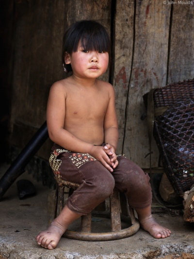 face of vietnam - Mang girl in A Mai Village, Pa Ve Su