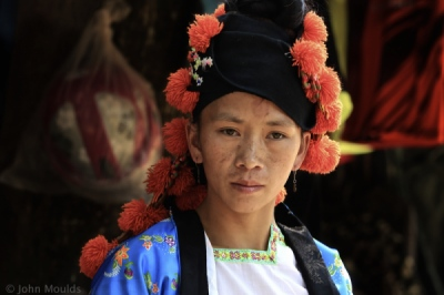 face of vietnam - Green Hmong in Muong Mun