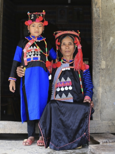 face of vietnam - Ha Nhi in Le Ma Village, Ka Lang Commune, Muong Te area