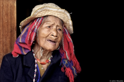 face of vietnam - Mrs Ka Kiep, Pa Co ethnic lady of Hong Quang Townlete A Luoi, 2013.