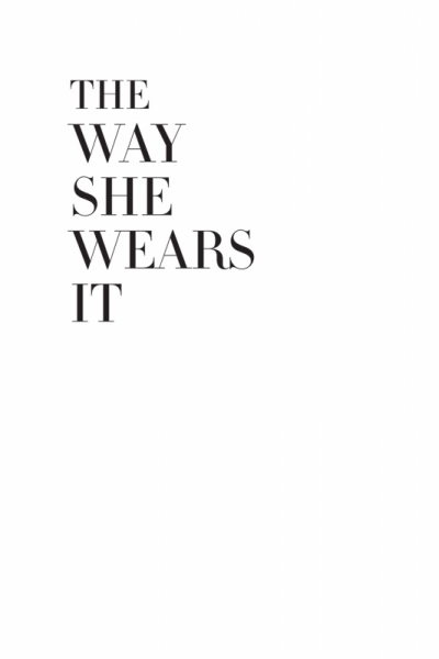 Suet Chong Design - The Way She Wears It