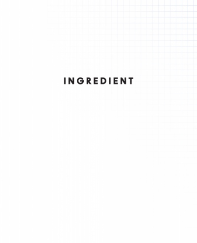 Suet Chong Design - Ingredient