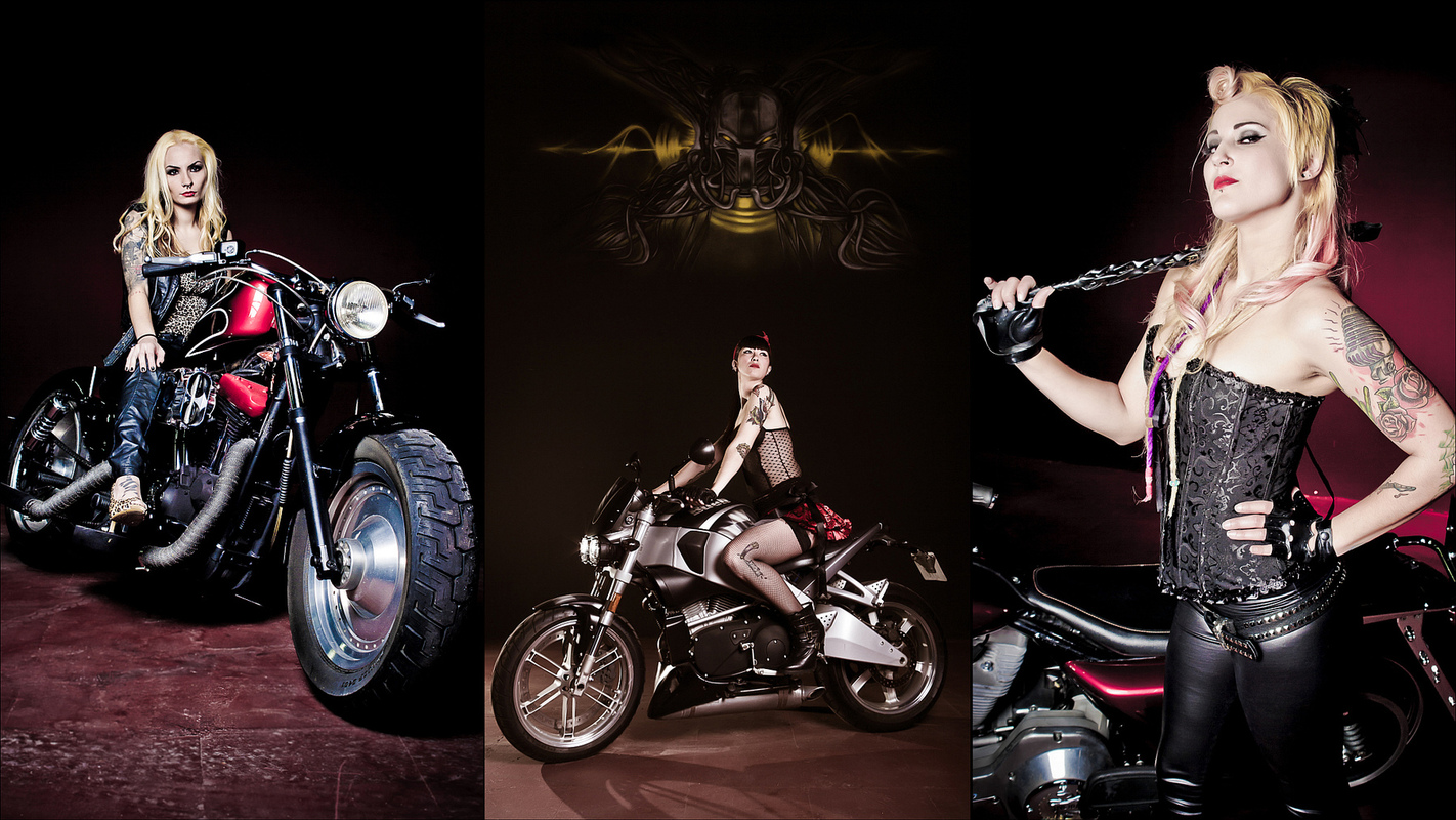 Foto PRIGANICA - Spanish Biker Chicks Editorial 1