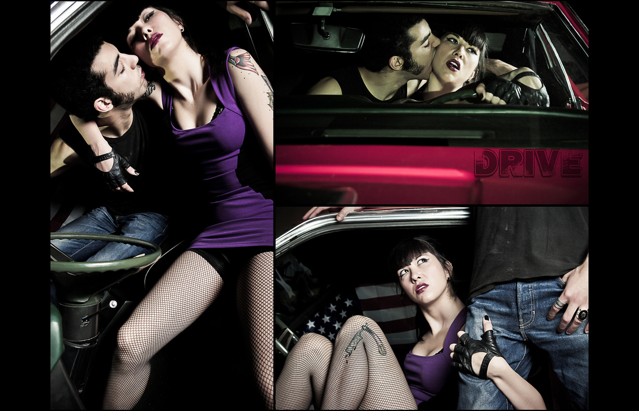 Foto PRIGANICA - Drive my Mustang fashion editorial