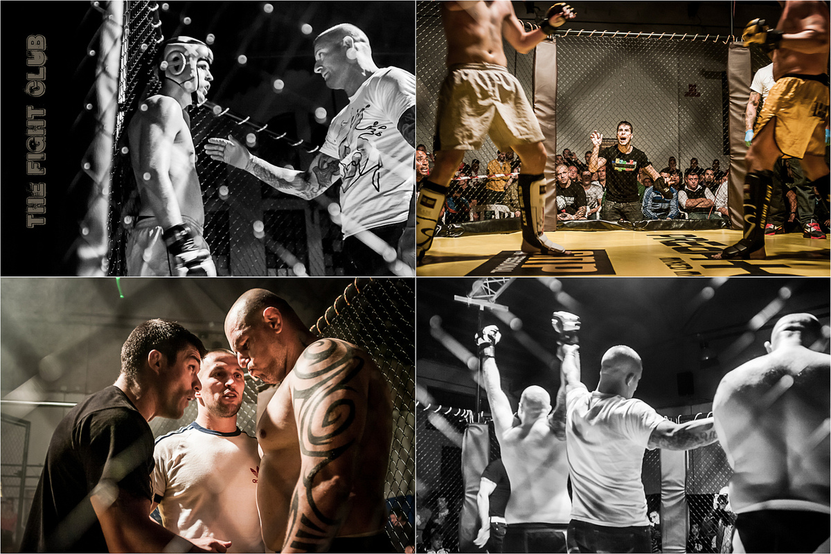 Foto PRIGANICA - cage fight editorial