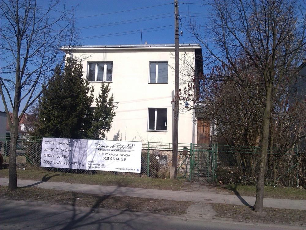 Architekt Maciej Hyz - Elewacja frontowa - stan pierwotny, marzec 2014 r.