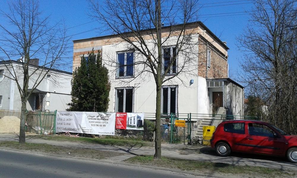 Architekt Maciej Hyz - Perspektywa - zdjęcie z budowy, kwiecień 2015 r.