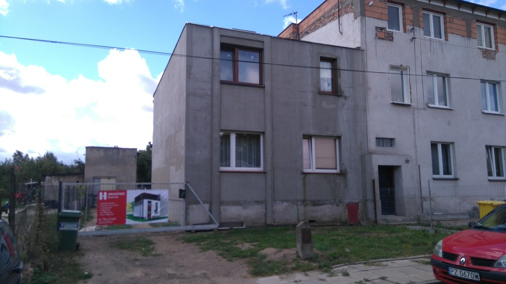 Architekt Maciej Hyz - Postęp prac - wrzesień 2015 r.