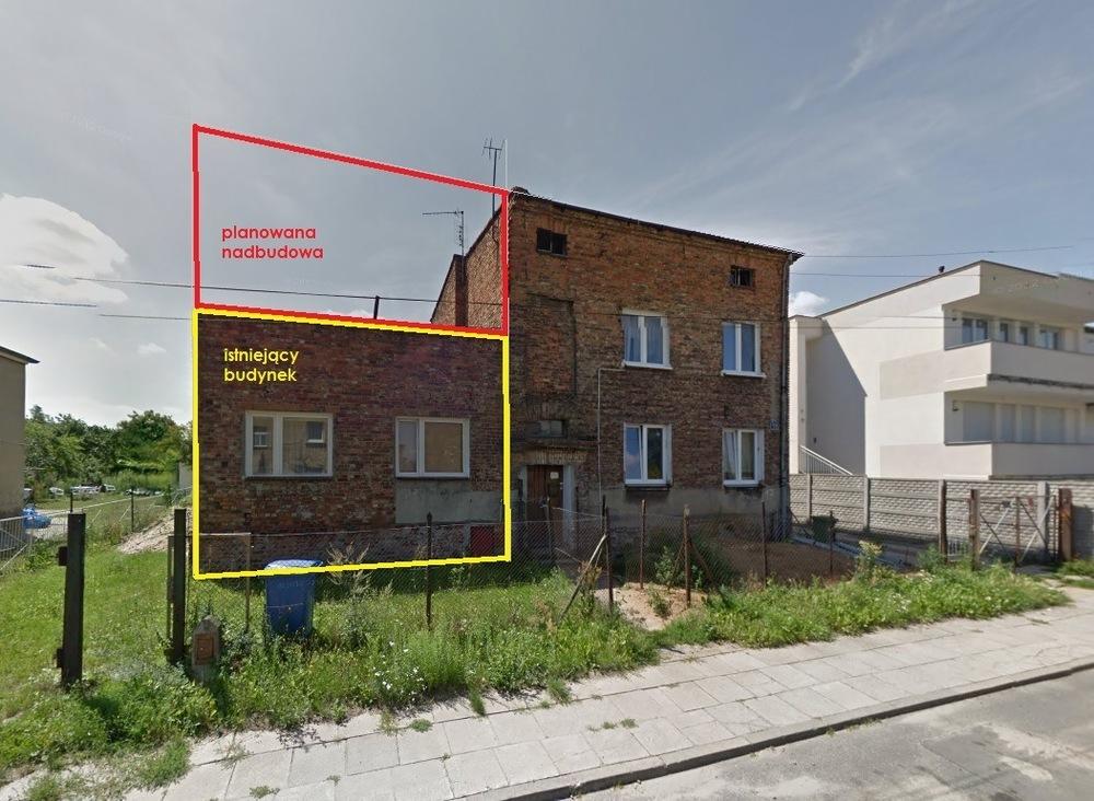 Architekt Maciej Hyz - Stan pierwotny.