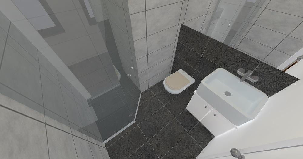 Architekt Maciej Hyz - Wnętrze łazienki.