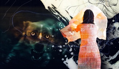 f6 - Collage #051 © Francis Blanchemanche & Giageikowonhans Bellmobrusounuma