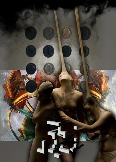 f6 - Collage #015 © Francis Blanchemanche & Harleninjachuyasu Felkasomasuilamloon