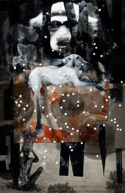 f6 - Collage #025 © Francis Blanchemanche & Betblacboobricha Cavdosaveartwilinski