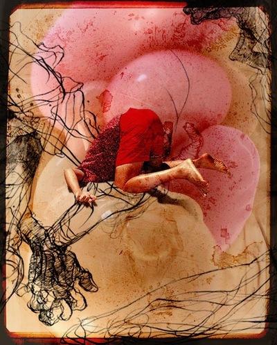 f6 - Collage # 007 © Francis Blanchemanche & Chrislonébren Georwoolanziano