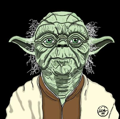 Lexa Illustrateur. - Maître Yoda