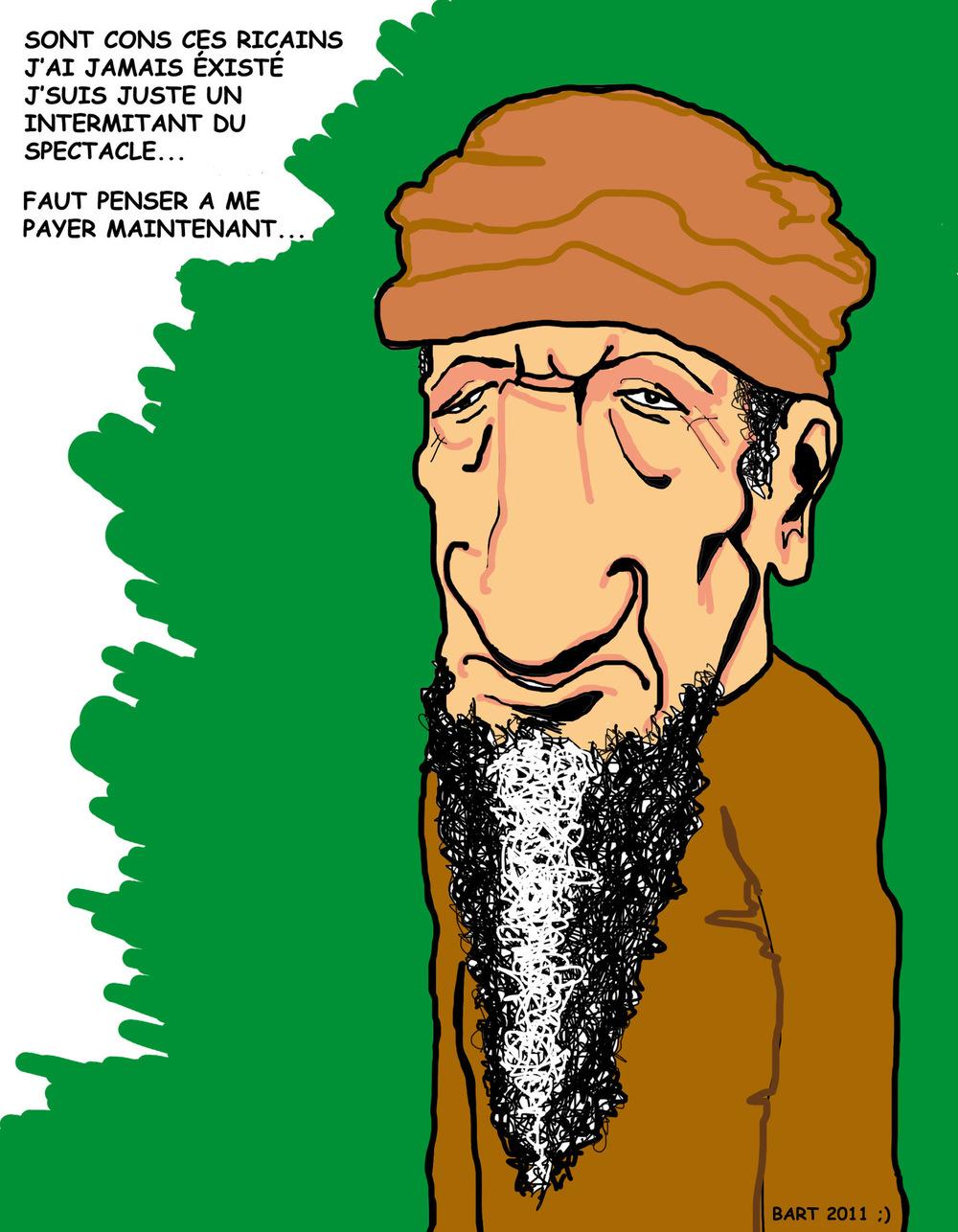 Lexa Illustrateur. - Ben Laden