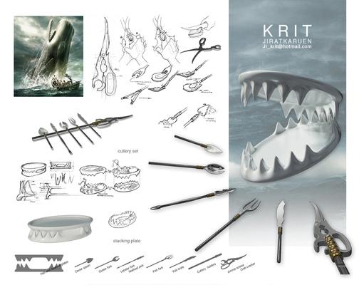 Jr.Krit - HUNTER CULTERY DESIGN