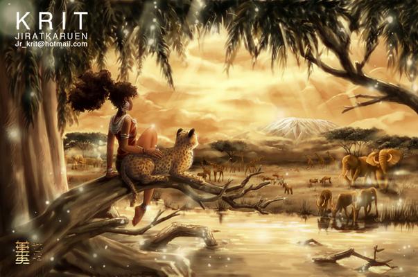 Jr.Krit - AFRICAN PARADISE