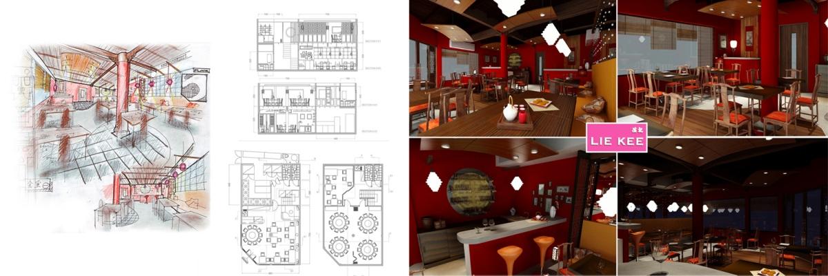 Jr.Krit - LAIKEA restaurant design