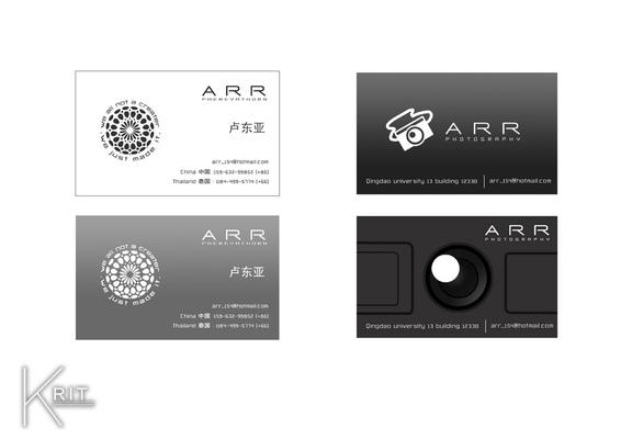 Jr.Krit - ARRname card