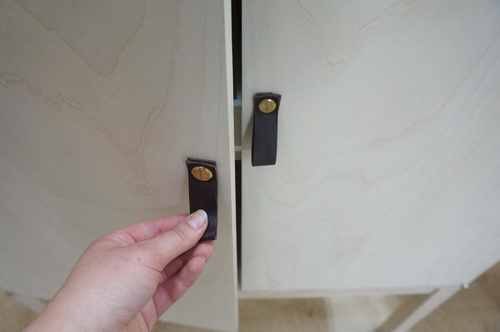 Dackelid Form - Detalj på handtagen