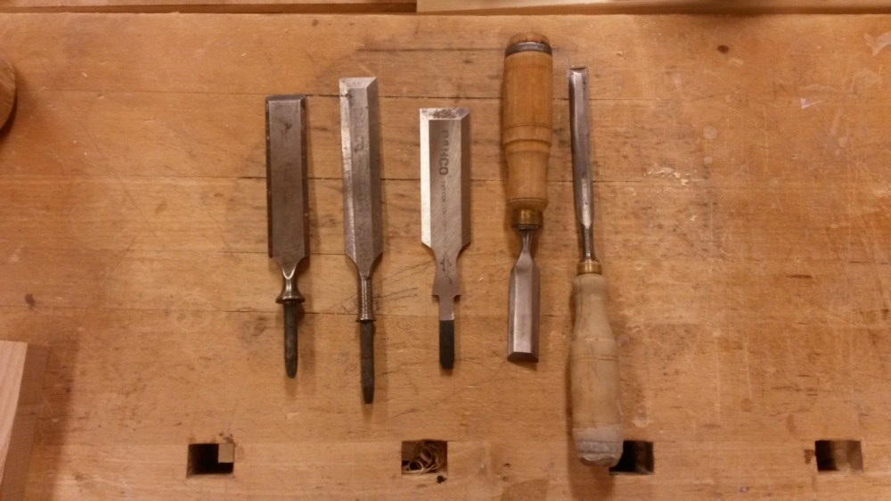 Dackelid Form - Starting point: making handles for my chissels