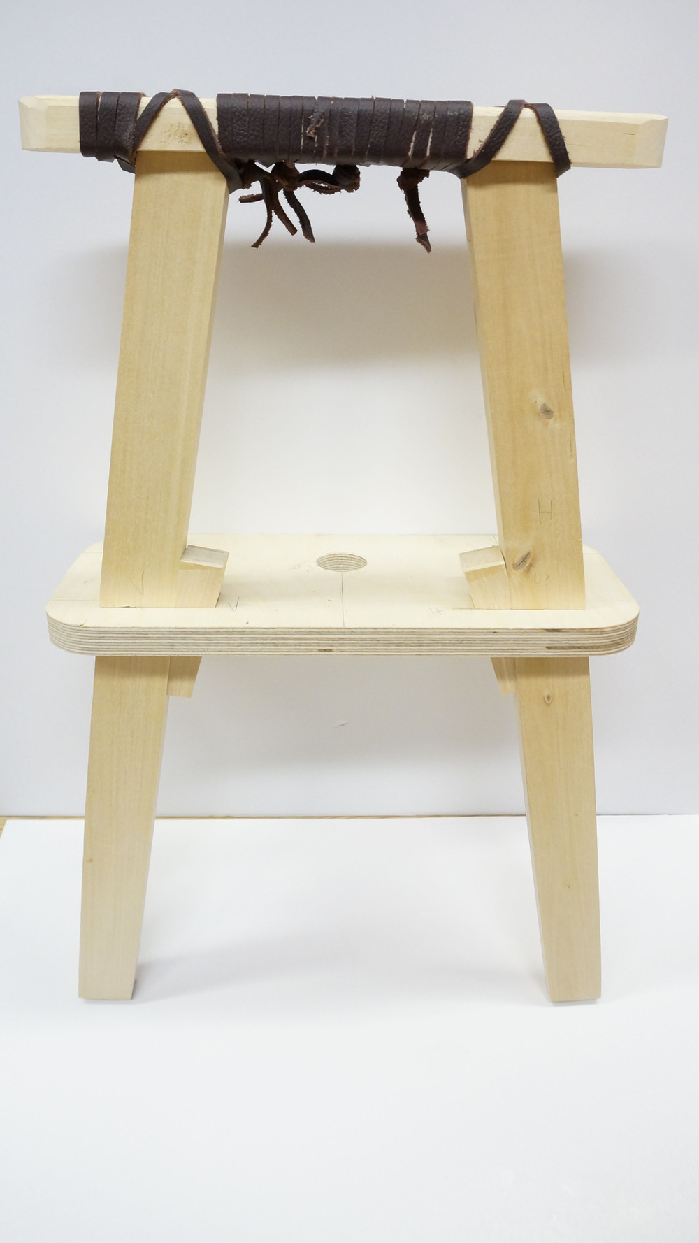 Dackelid Form - I found a nice way to join the legs, seat and armrest