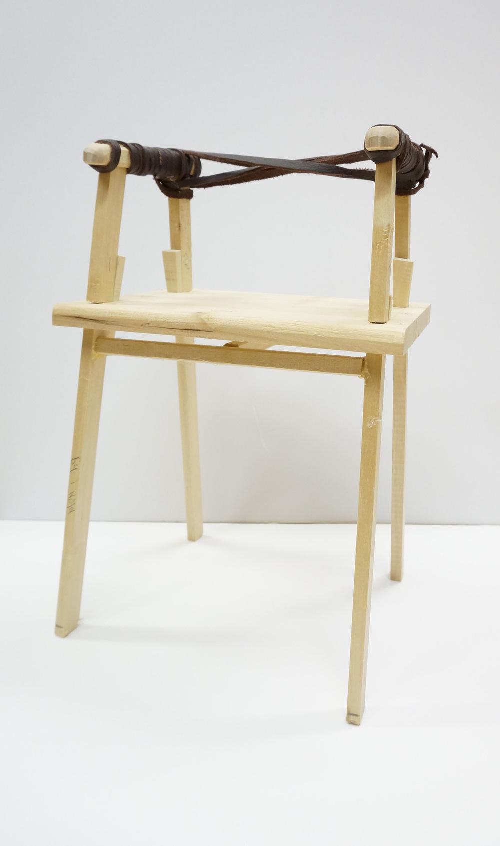 Dackelid Form - 1:5 scale model
