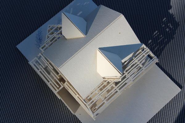 uk-architektin - zubau haus bk, halbturn