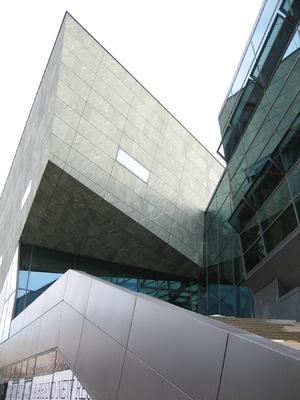 uk-architektin - fassaden, science and convention centre, damstadt für chalabi architekten