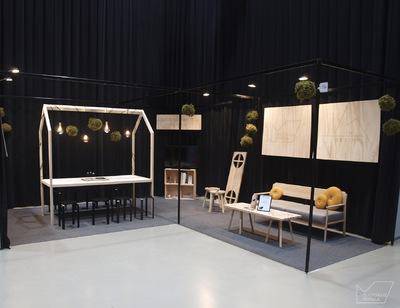 Muotoilija Mirella Virtanen - Messuosastosuunnitelma ja toteutus, Lahti, 2016