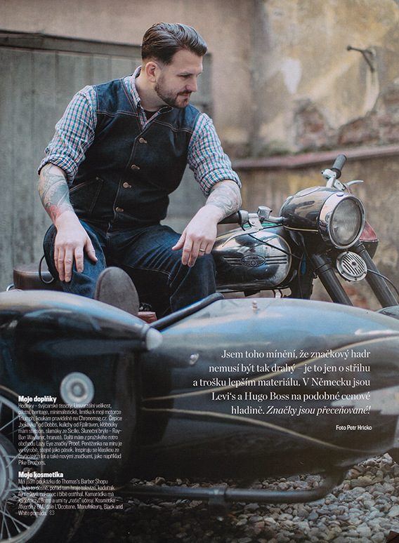 matej tresnak photographer I director - Special Issue of For Men magazine. Photo: P.Hricko