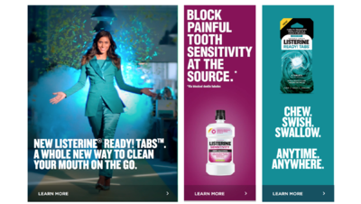 matej tresnak photographer I director - LISTERINE / READY TABS