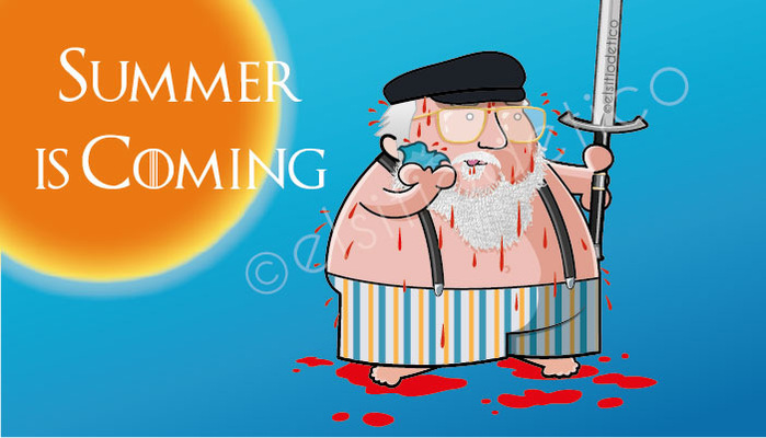 elsitiodetico ILUSTRADOR - Summer is coming.