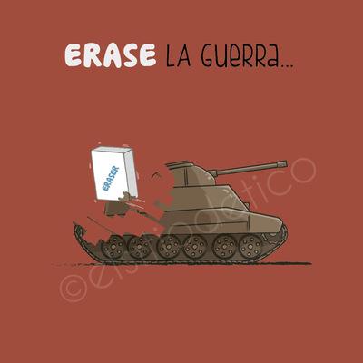 elsitiodetico ILUSTRADOR - ERASE la guerra...