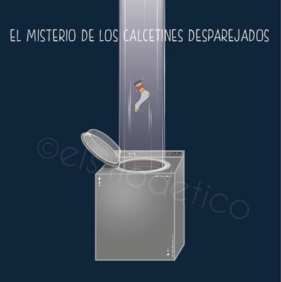elsitiodetico ILUSTRADOR - El misterio de los calcetines desparejados.
