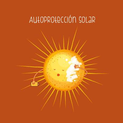 elsitiodetico ILUSTRADOR - Autoprotección solar.