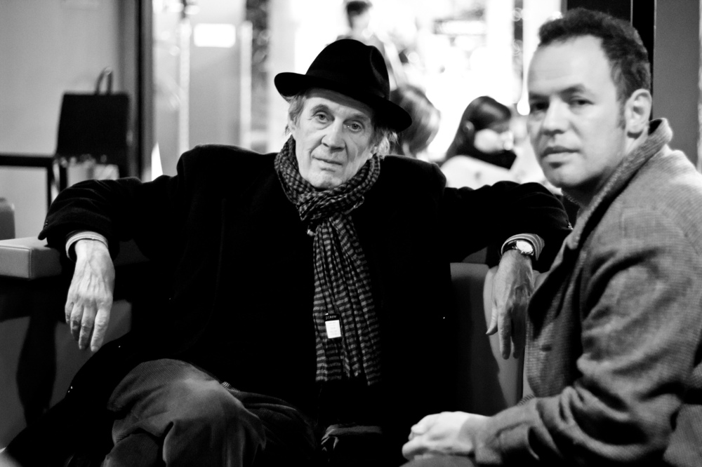 Vincent Courtois, photographe - André S. Labarthe et Nicola Sornaga, Festival international du film, EntreVues Belfort. 2012