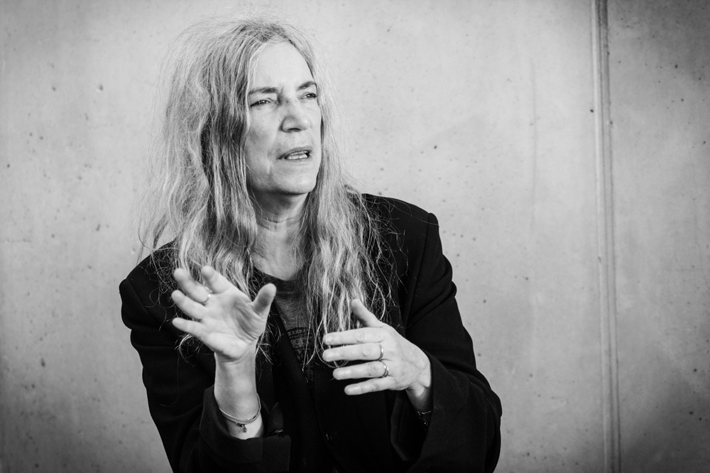 Vincent Courtois, photographe - Patti Smith, chapelle Notre-Dame-du-Haut, Ronchamp.