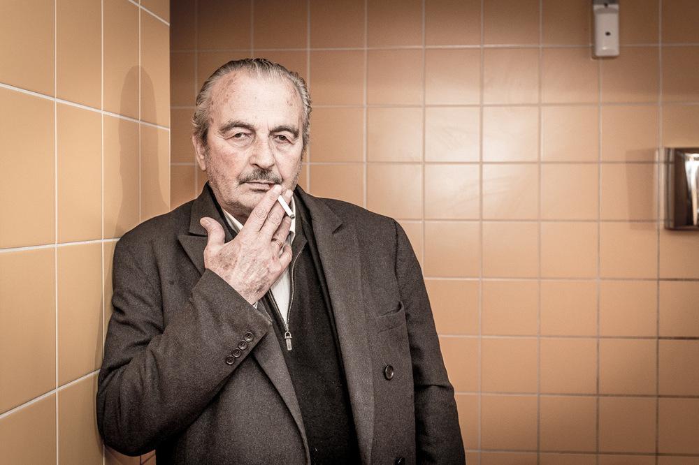 Vincent Courtois, photographe - Jacques Nolot, comédien, réalisateur.