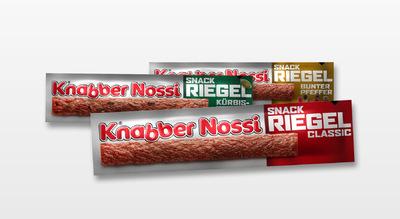 Daniel Sack - Knabbernossi Riegel Produktdesign