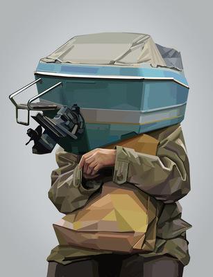 mielenosia - Boat face, 2012