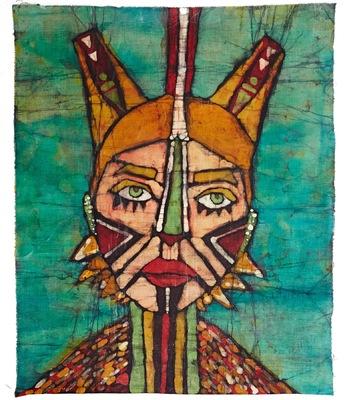 OLA PEREC BATIK - Maska 2