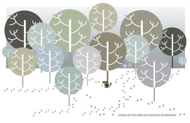 Sprakfåle illustration och design -