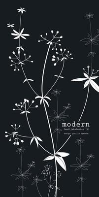 Sprakfåle illustration och design - Almanacka Modern, Burde Förlag.