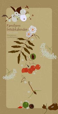 Sprakfåle illustration och design - Almanacka, Burde Förlag.