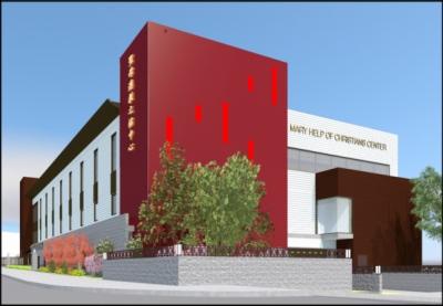 Schism Design - Mary Help of Christians Center